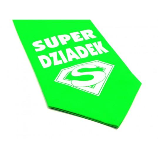 Krawat z humorem - Super Dziadek