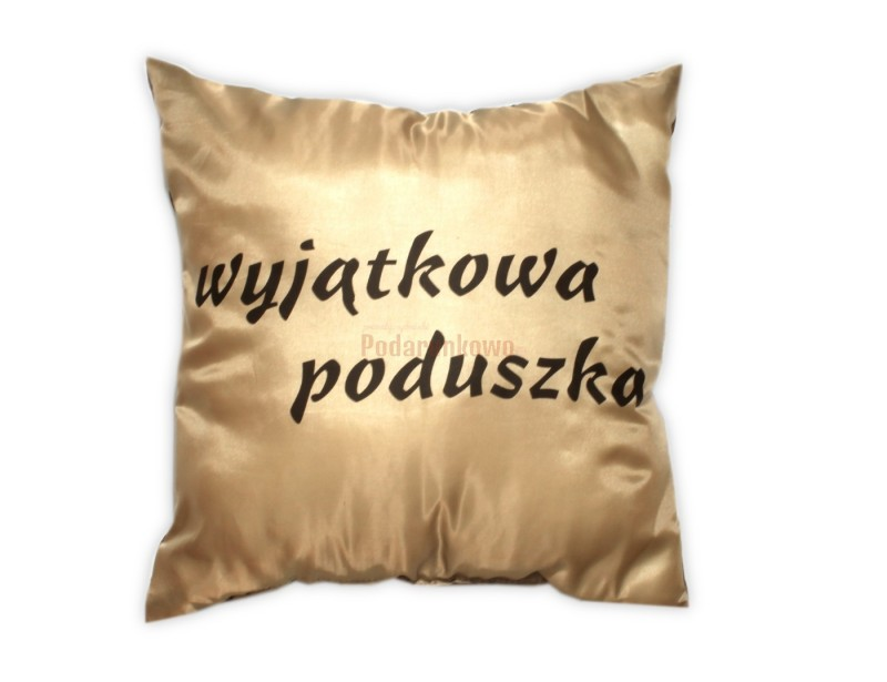 Jaki jest idealny prezent dla chłopaka? Romatyczny, trwały i wygodny. Taka właśnie jest prezentowana poduszka.