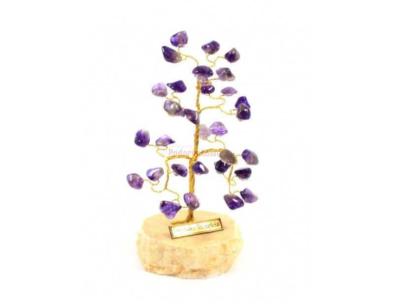 Drzewko Szczęścia - Ametyst
