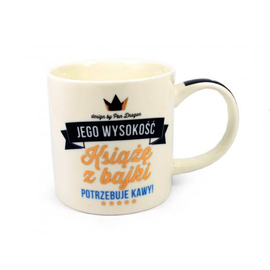 Kubek Royal - Książę z bajki potrzebuje kawy