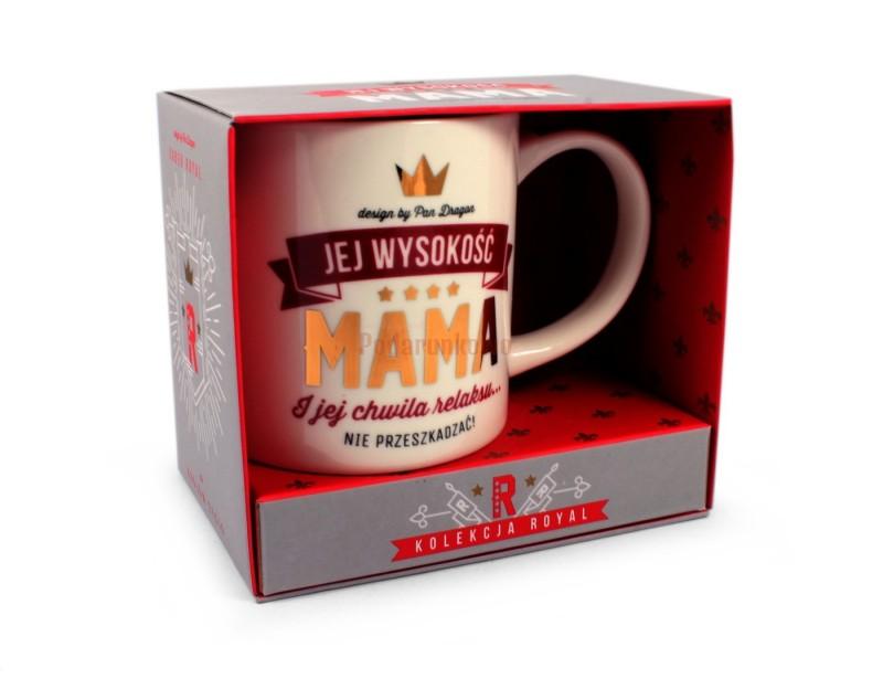 Kubek z kolekcji Royal sprawi, że ceremoniał picia kawy i herbaty nabierze monarszego wymiaru :)