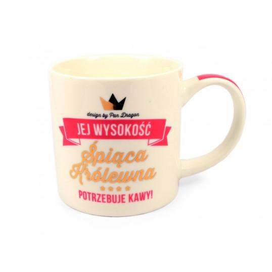 Kubek Royal - Śpiąca Królewna potrzebuje kawy