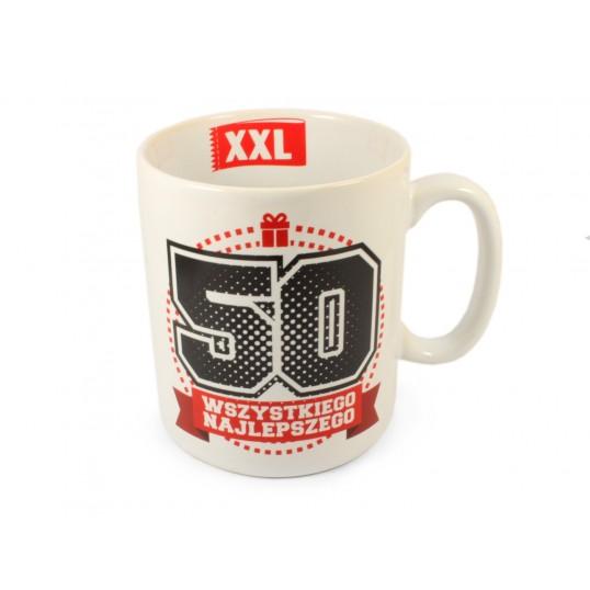 MEGA Kubek XXL - Na 50-tkę