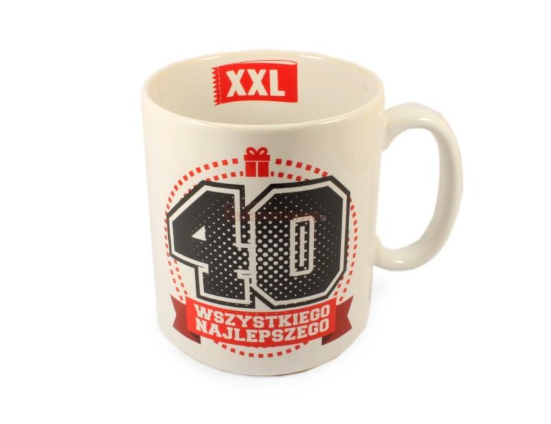 MEGA Kubek XXL - Na 40-stkę