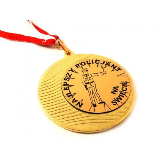 Medal - Najlepszy Policjant na Świecie