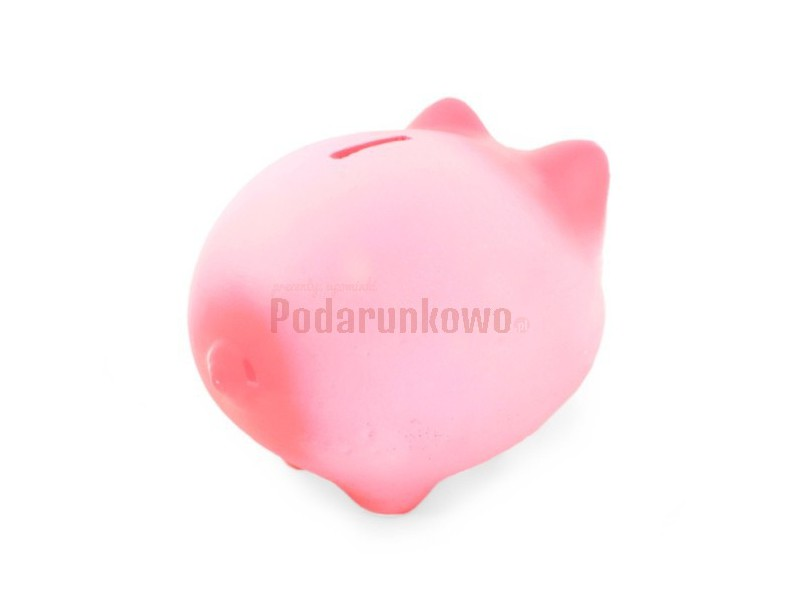 Mega Duża Świnka Skarbonka (różowa)