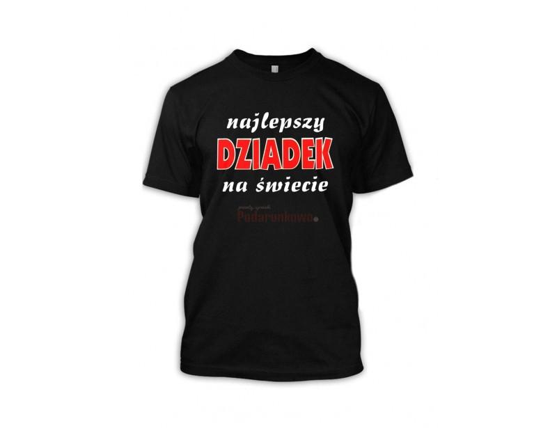 Prezentowana koszulka to świetny prezent dla każdego dziadka :) Koszulka jest wygodna, bawełniana i super wygląda!