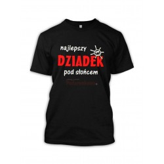 Koszulka - Najlepszy Dziadek pod Słońcem