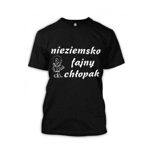 Koszulka - Nieziemsko Fajny Chłopak