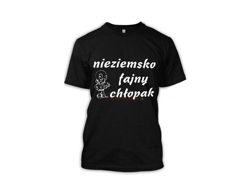 Bardzo dobryFantastyczny Koszulka - Nieziemsko Fajny Chłopak - Prezenty, upominki TJ59