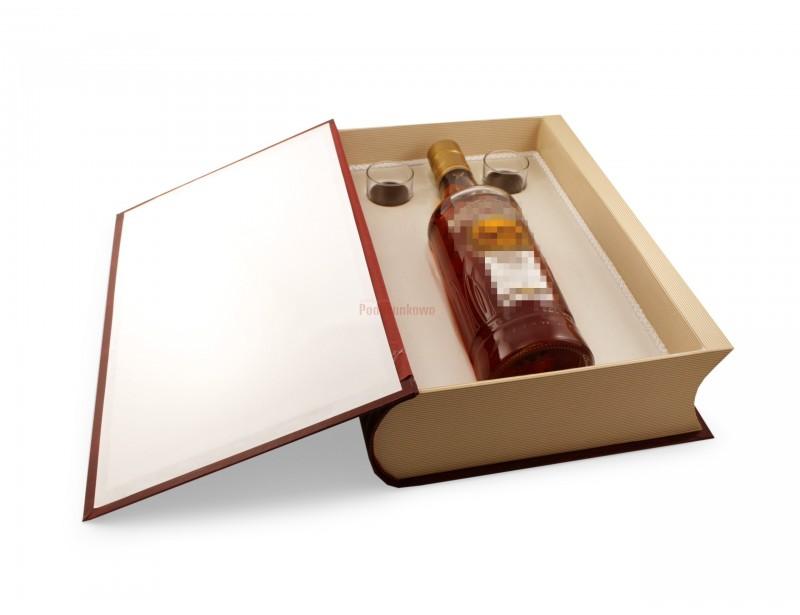 Rewelacyjna, duża księga na alkohol będzie znakomitym prezentem dla Nowożeńców.