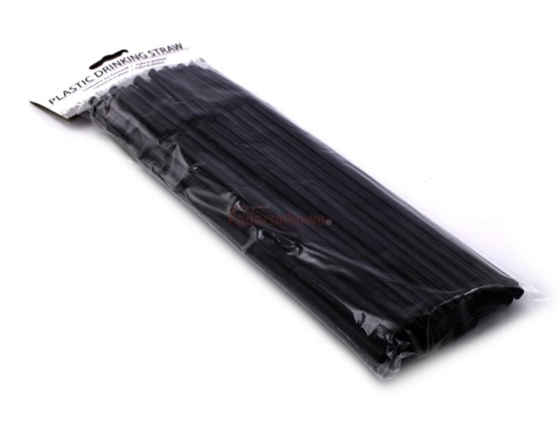 Szykujesz fajna imprezę i szukasz fajnych dodatków? :) Czarne, cienki, łamane rurki do napojów są tym, czego potrzebujesz :)
