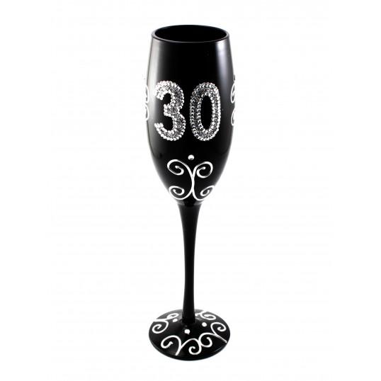 Kieliszek do szampana - Na 30 urodziny