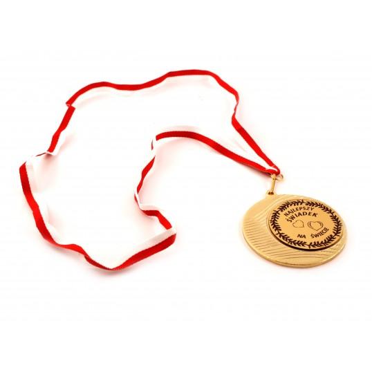 Medal - Najlepszy Świadek na Świecie