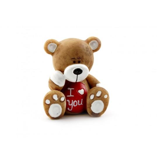 Figurka Miś - I Love You