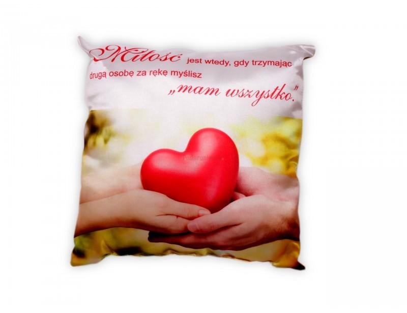 Chcesz sprawić ukochanej osobie wspaniały upominek? Romantyczna poduszka jest oryginalnym sposobem, aby wprowadzić wspaniałą atmosferę pełną miłości.