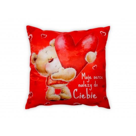 Poduszka - Moje serce należy do Ciebie