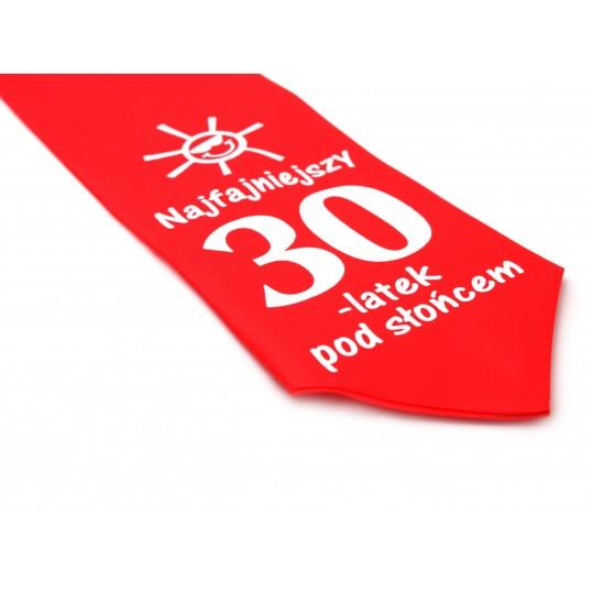 Krawat z humorem - Najfajniejszy 30-latek pod słońcem