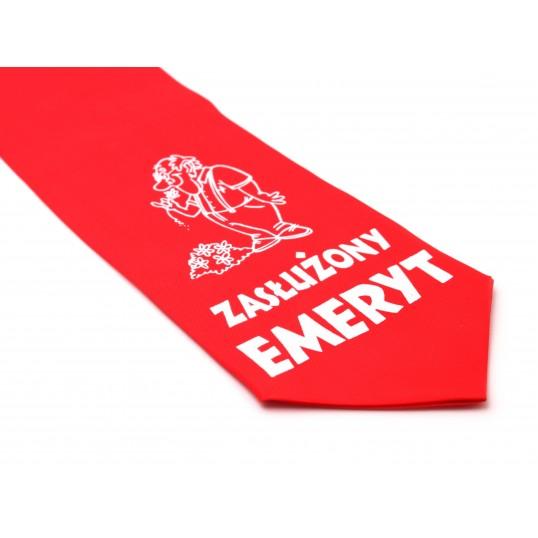 Krawat z humorem - Zasłużony emeryt