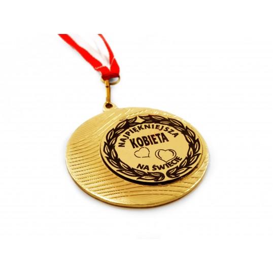 Medal Najpiękniejsza Kobieta na Świecie