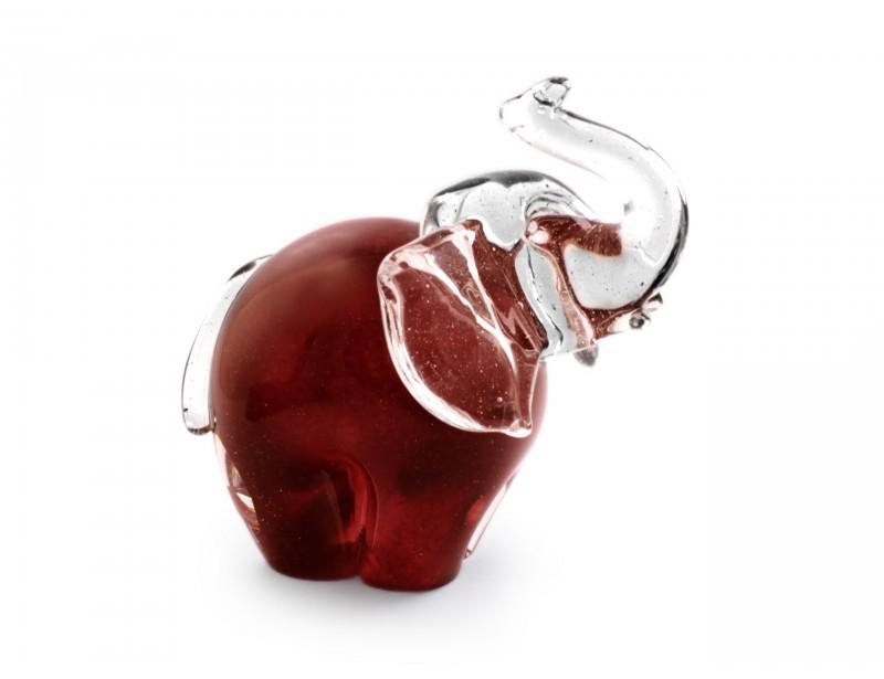 Figurka szklana - Słoń
