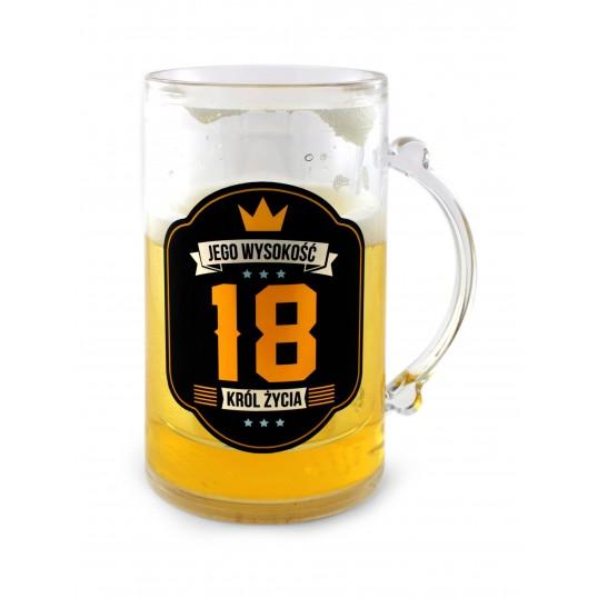 Kufel na piwo Royal - 18 Król Życia