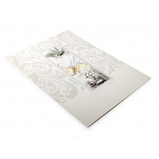 Karnet XL - W Dniu Ślubu Młodej Parze
