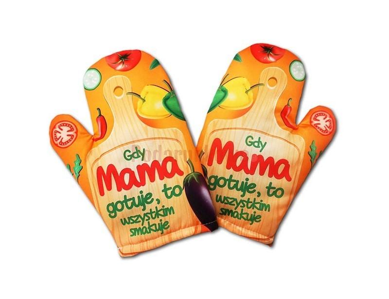 Taka rękawica to praktyczny prezent, z którego każda szefowa kuchni będzie zadowolona i dumna. Jeśli chcesz zrobić swojej mamie oryginalny prezent - to jest właśnie to! :)