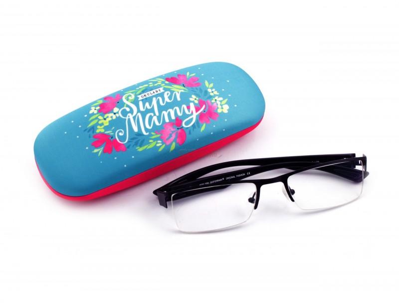 Jeśli Twoja Mama nosi okulary to taki prezent jest strzałem w dziesiątkę :) Etui ma ładną grafikę, jest wykonane z wysokiej jakości materiałów i ma radosną kolorystykę.