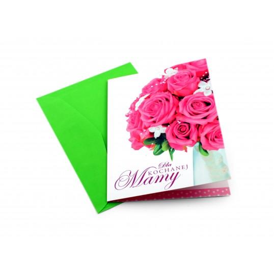 Karnet Dla Kochanej Mamy