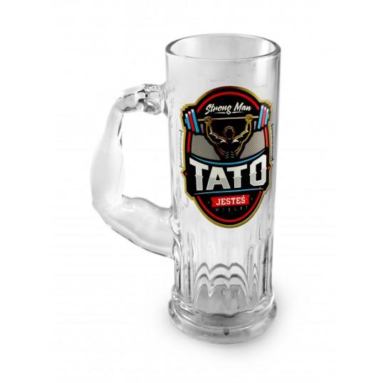 Kufel na piwo Mocarz - Tato jesteś Wielki