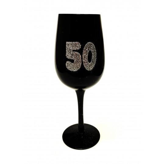 Elegancki Kielich na 50 urodziny