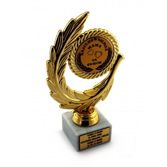 Złoty laur - Najcudowniejsza Mama na Świecie