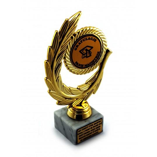 Złoty laur - Gratulacje Panie Magistrze
