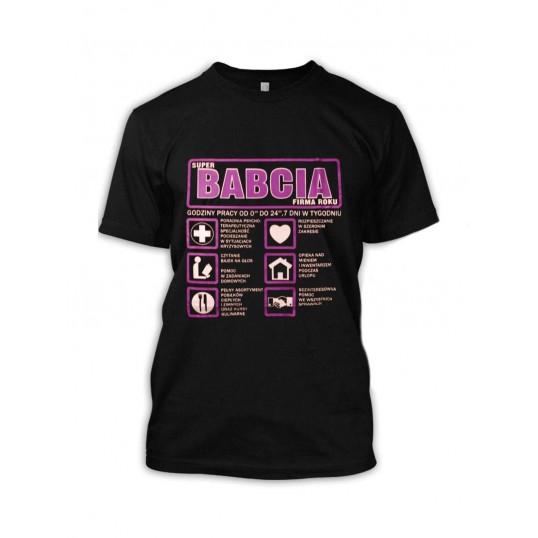Koszulka - Babcia Sp. z o.o.