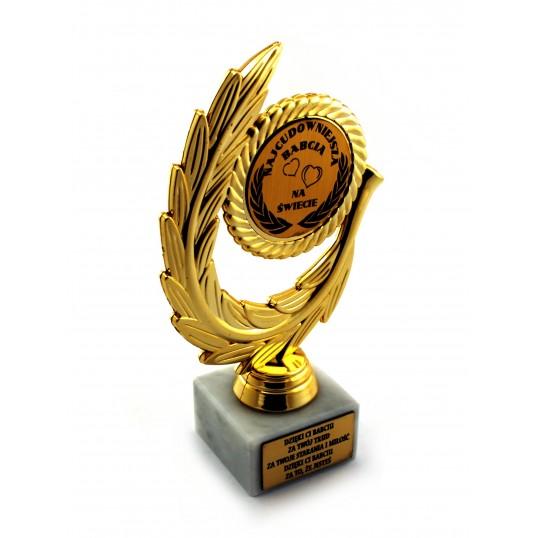Złoty laur - Najcudowniejsza Babcia na Świecie