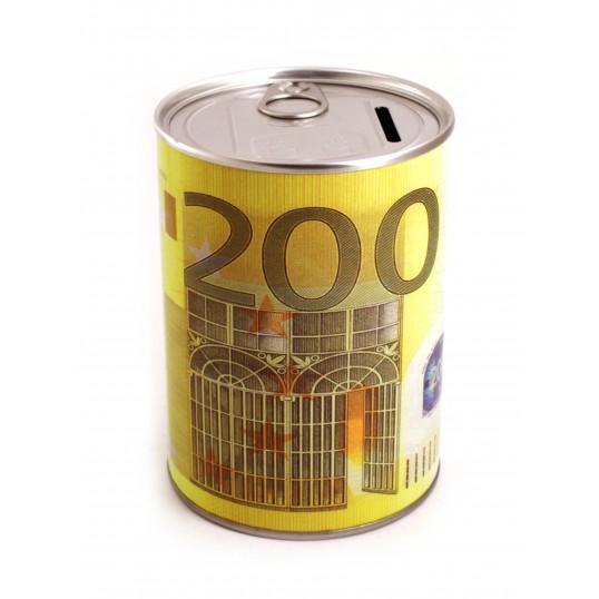 Skarbonka puszka z otwieraczem - 200 Euro