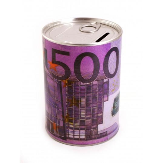 Skarbonka puszka z otwieraczem - 500 Euro