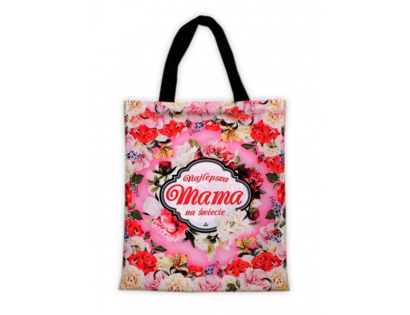 Oryginalnie wyglądająca, bardzo praktyczna torba na zakupy dla ukochanej mamy.