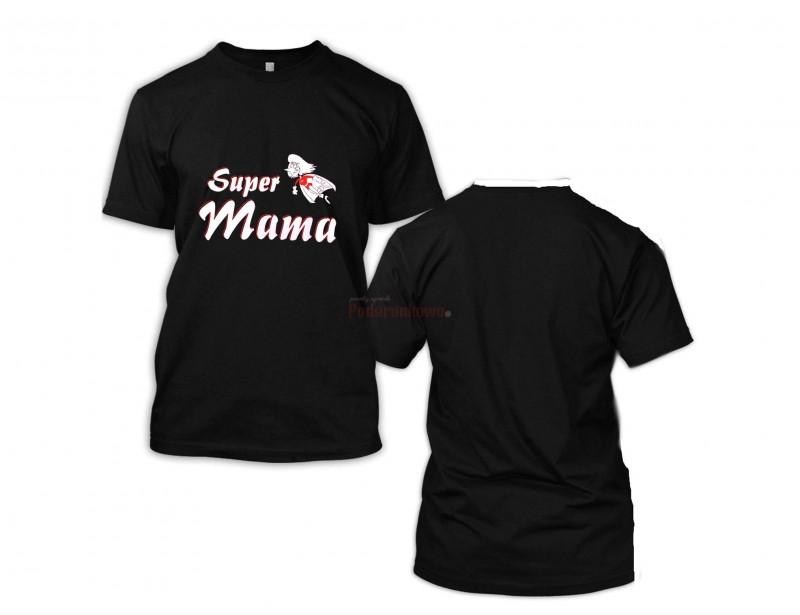 Super koszulka dla super mamy :) To świetny prezent z okazji Dnia Matki, urodzin lub imienin. Koszulka może służyć Twojej mamie na co dzień, w domu lub w pracy :)