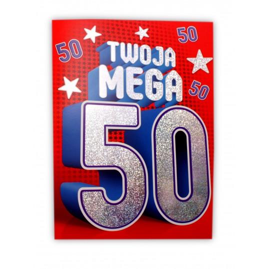 Karnet - Twoja Mega 50