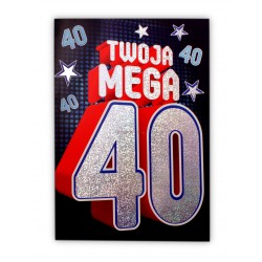 Karnet - Twoja Mega 40