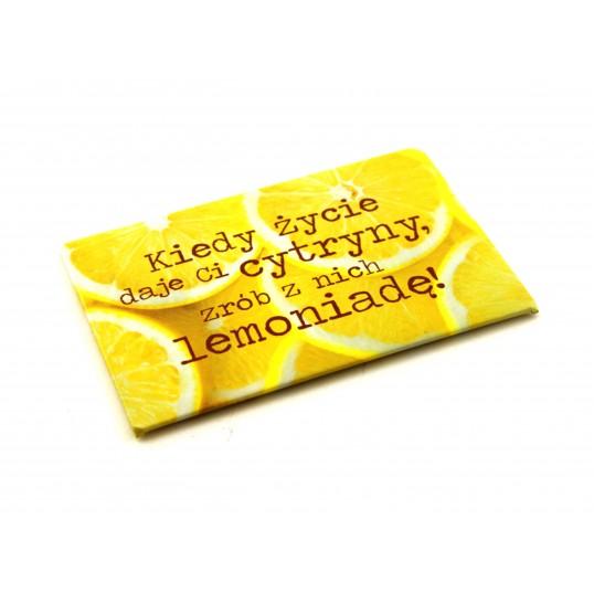 Magnes na lodówkę - Lemoniada
