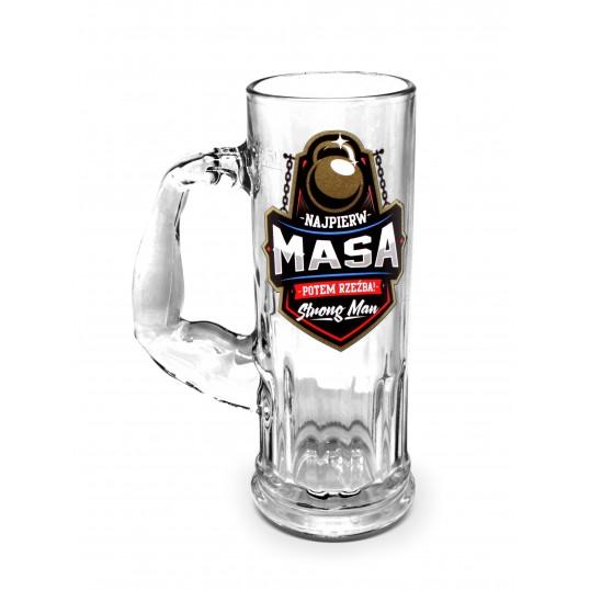 Kufel na piwo Mocarz - Masa