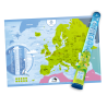 Mapa zdrapka - Europa