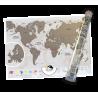Mapa zdrapka - Premium Świat