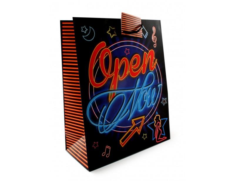 Torebka prezentowa Neon XXL - Open Now