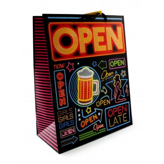 Torebka prezentowa Neon XXL - Open