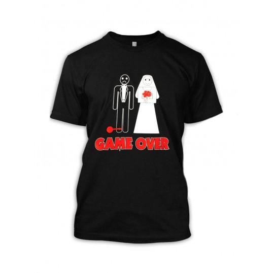 Koszulka - Game Over (kula u nogi)