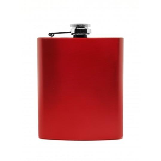 Piersiówka 7 oz - Czerwona